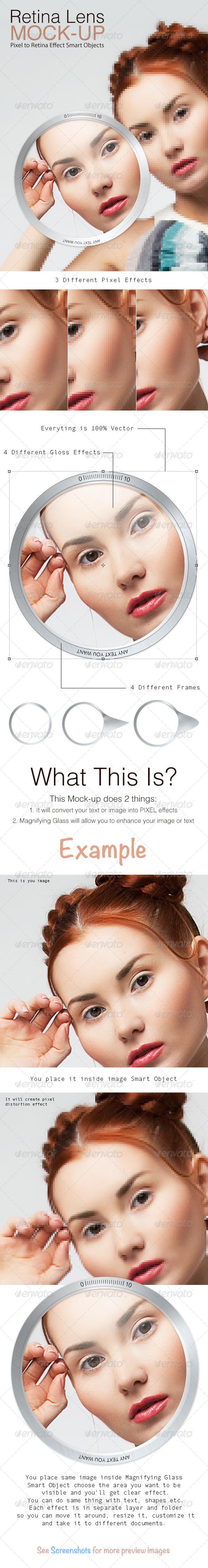 GraphicRiver Retina Lens Mock-up 4854771