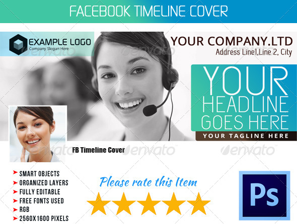 GraphicRiver Corporate FB Timeline Cover 06 4830459