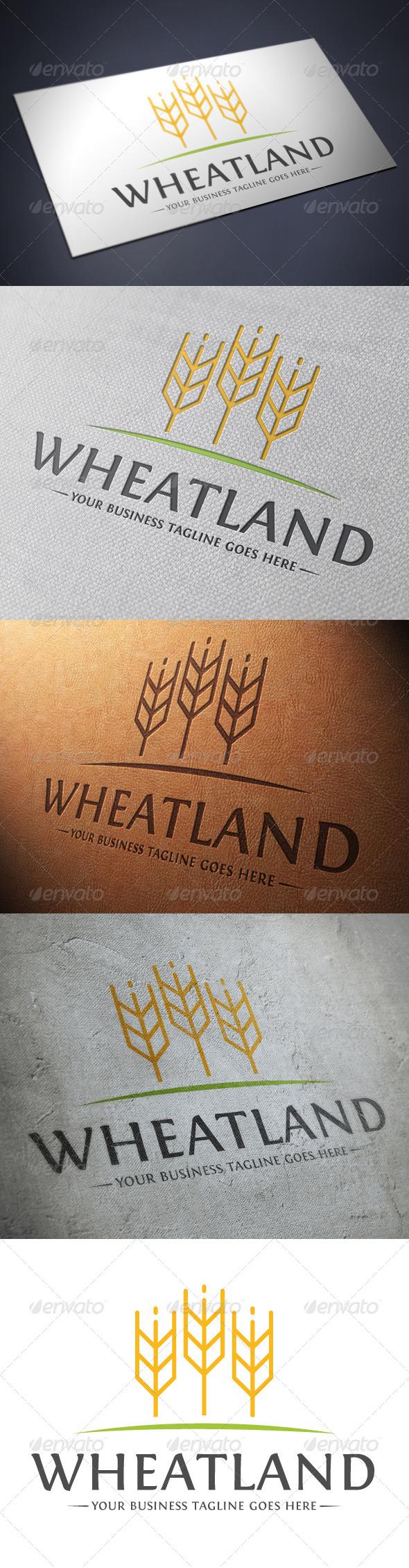 GraphicRiver Wheat Logo Template 4843909