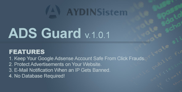 ADS Guard with jQuery Plugin