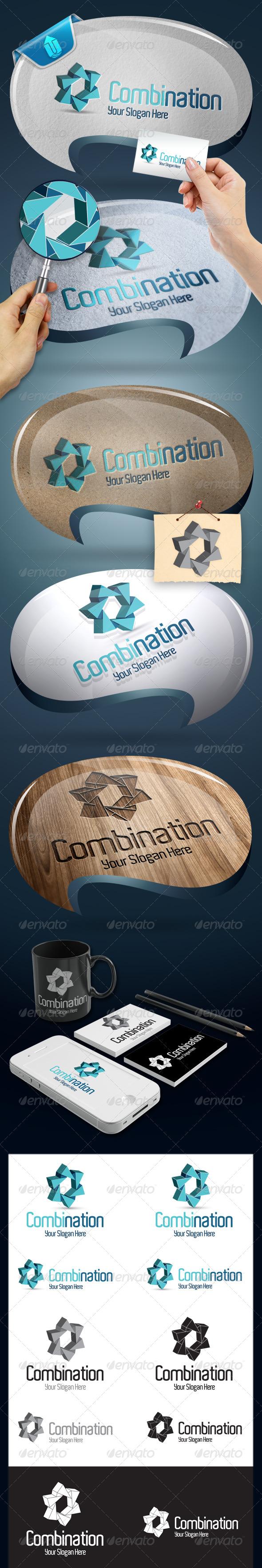 GraphicRiver Combination Logo Template 4856330