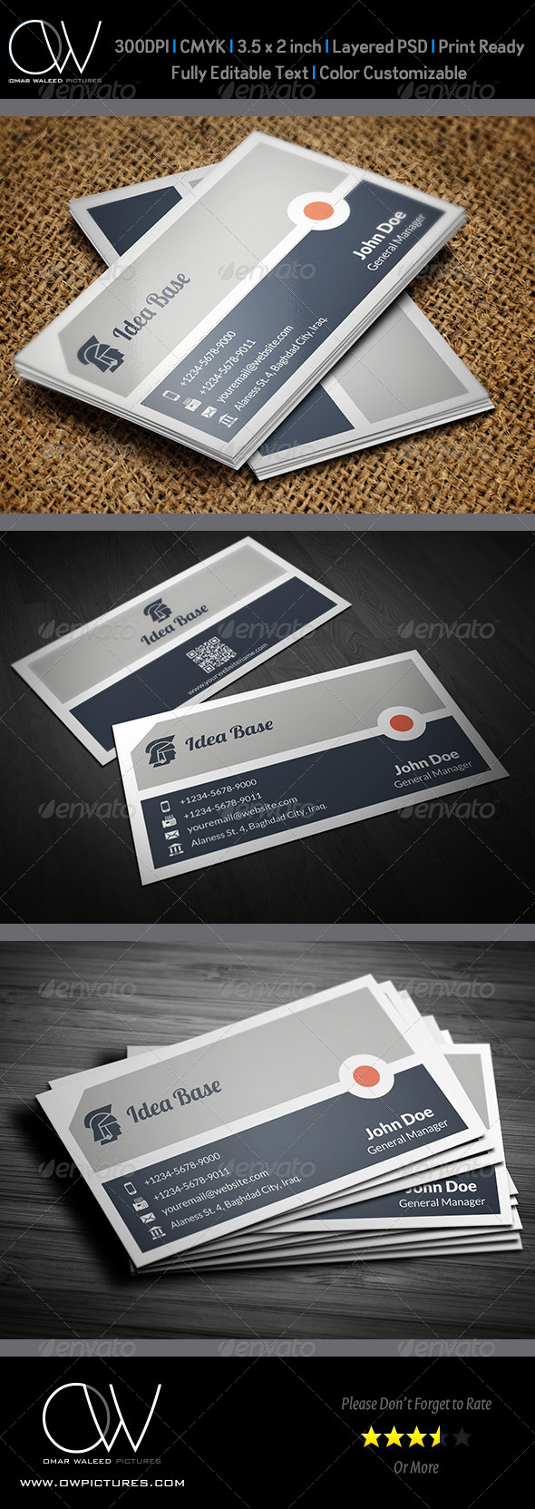 Corporate Business Card Vol.28 - Corporate Business Cards