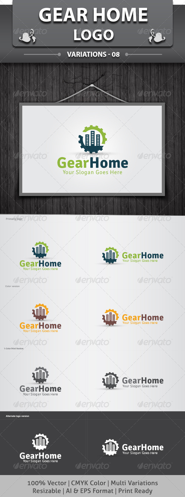 Gear Home Logo