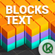 Blocks Text Creator - GraphicRiver Item for Sale