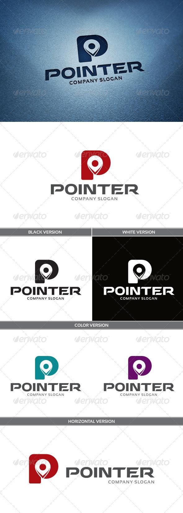GraphicRiver Pointer Logo 4858560