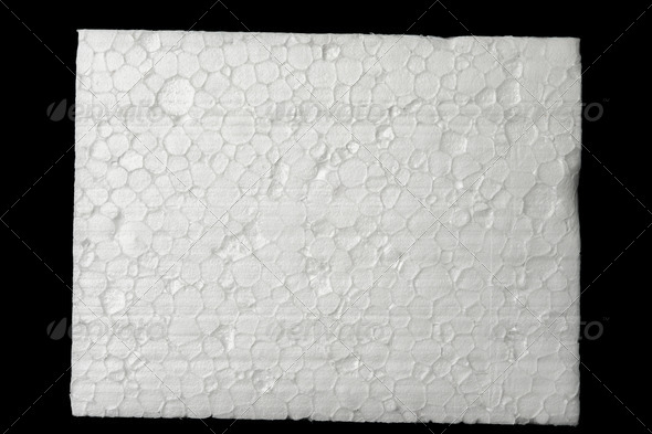 Polystyrene foam - Stock Photo - Images