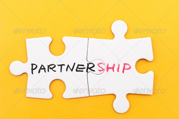 Partnership concept - Stock Photo - Images