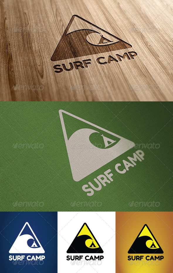 GraphicRiver Surf Camp 4833429