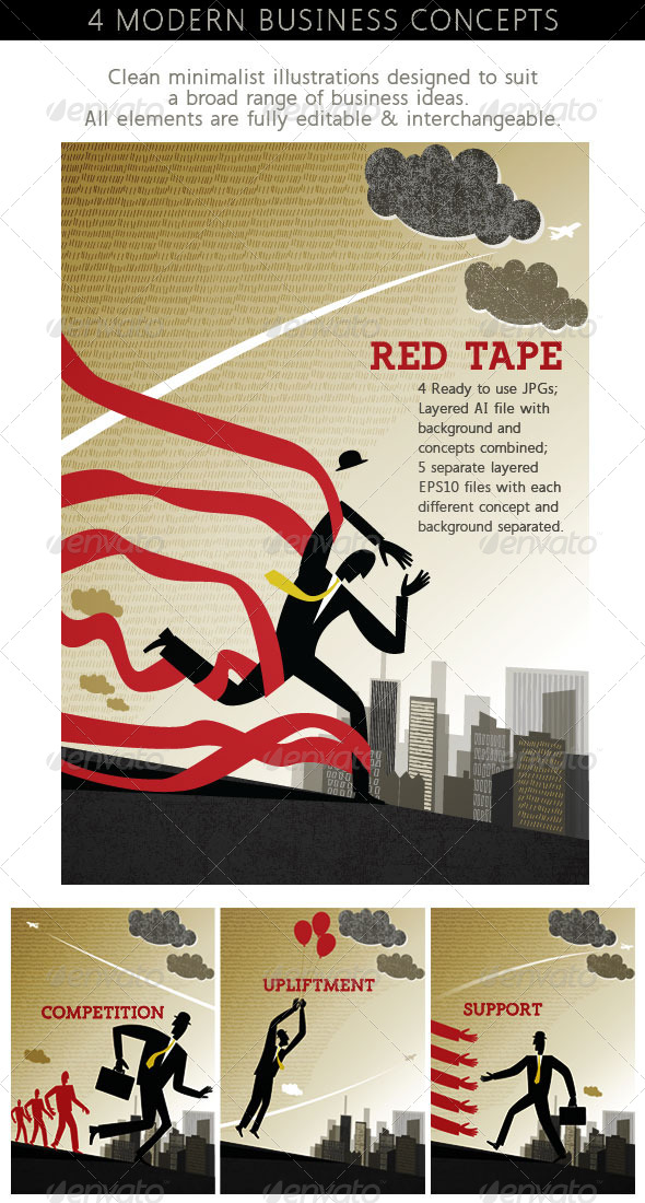 GraphicRiver Urban Business Concepts 4847612