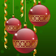 Christmas Balls Card - GraphicRiver Item for Sale