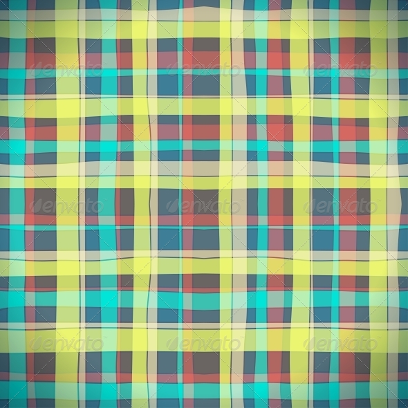 GraphicRiver Abstract Scottish Plaid 4860921