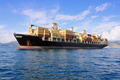 container ship in sea - PhotoDune Item for Sale