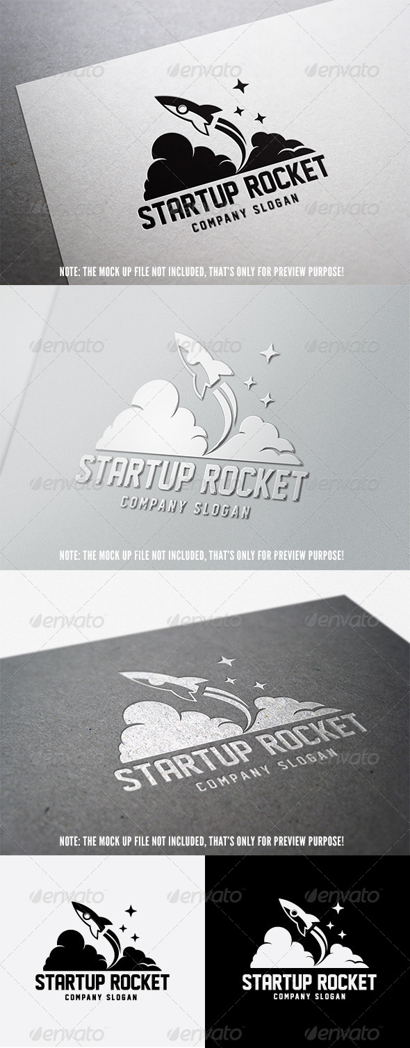 GraphicRiver Start Up Rocket Logo 4832727