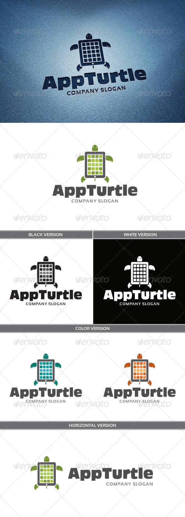 GraphicRiver AppTurtle Logo 4861542