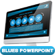 Blues PowerPoint Presentation Template - GraphicRiver Item for Sale