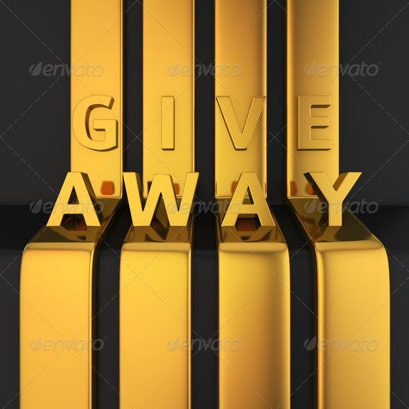 Give Away headline - Stock Photo - Images