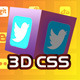 Social3D Retina Ready CSS Buttons - CodeCanyon Item for Sale