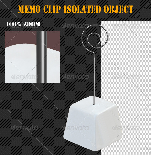 GraphicRiver Memo Clip Isolated Object 4862359
