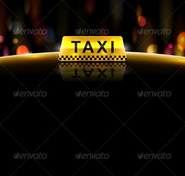 GraphicRiver Taxi Service 4862376