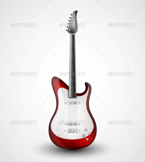 GraphicRiver Electric Guitar 4862383