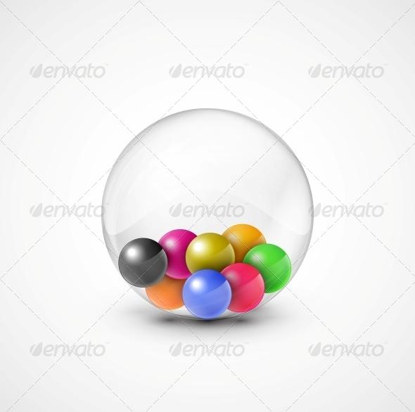 GraphicRiver Colorful Balls 4862386