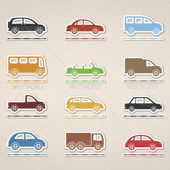 GraphicRiver Cars 4862466