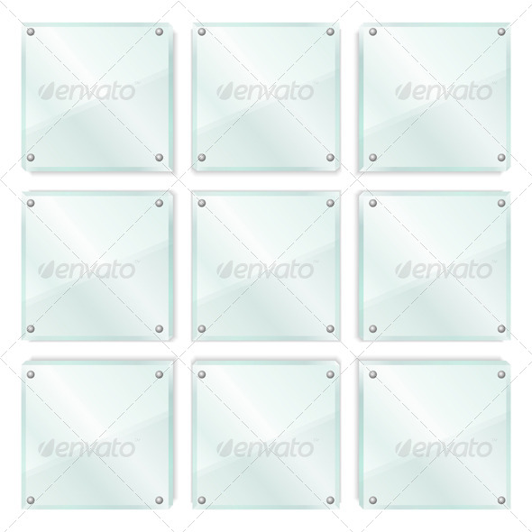 GraphicRiver Glass Frames 4862485