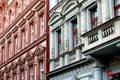 Decorative buildings on a Prague street in the Czech Republic - PhotoDune Item for Sale