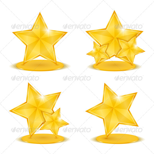 GraphicRiver Golden Stars 4862568