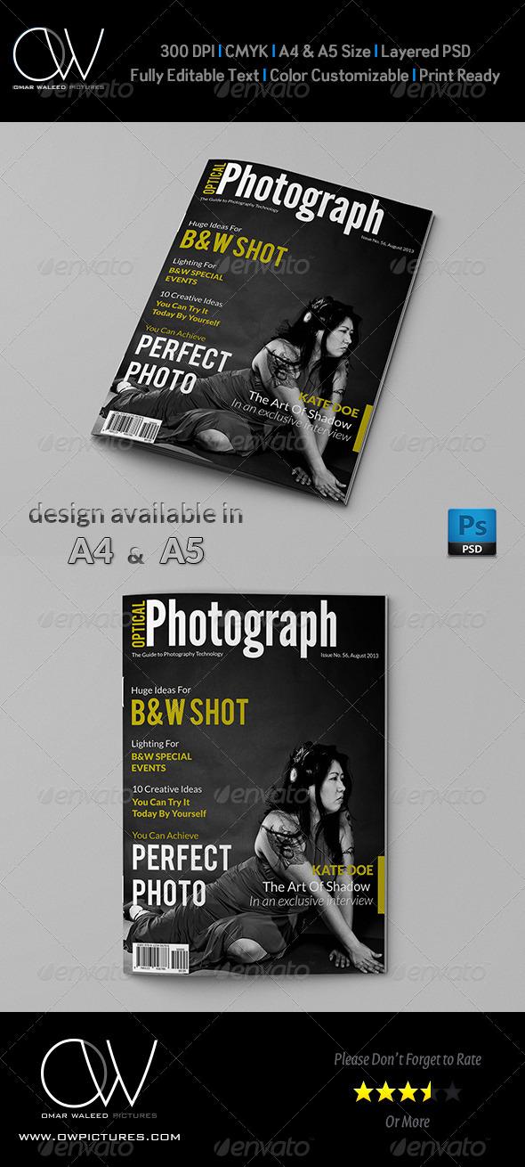 GraphicRiver Photograph Magazine Cover 4862973