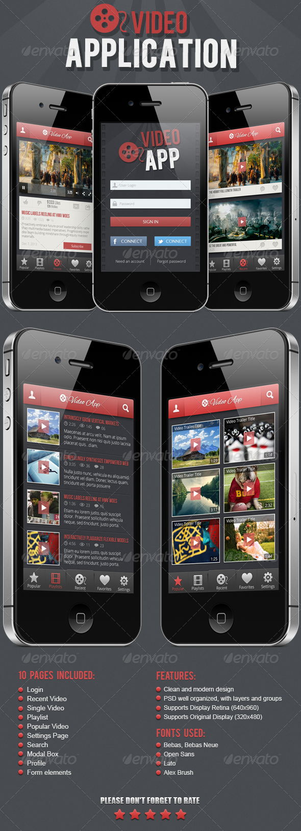 GraphicRiver Video Application 4828830