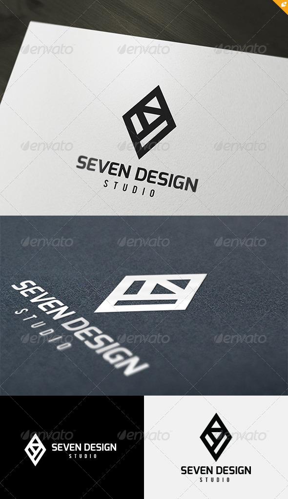 GraphicRiver Seven Design Logo 4863734
