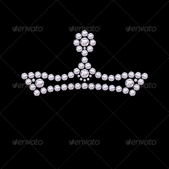 GraphicRiver Diamond Crown 4863735