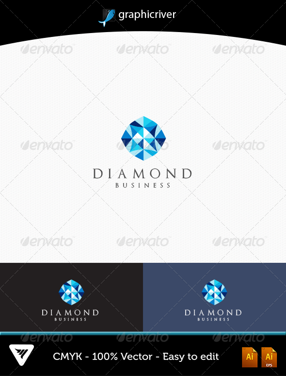 GraphicRiver Diamond Logo 4863879