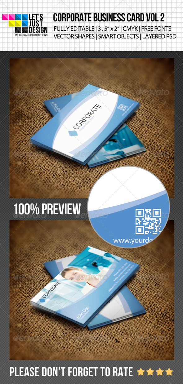 GraphicRiver Corporate Business Card Vol 2 4864007