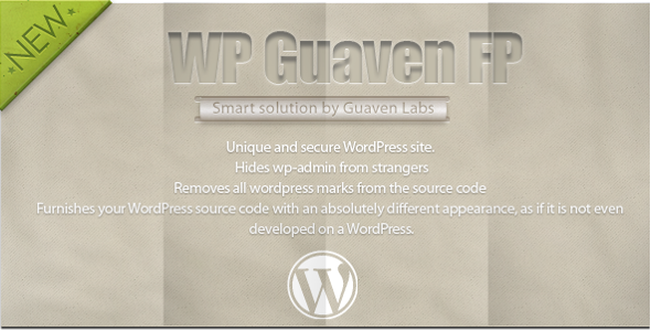 CodeCanyon Guaven FP Unique source code and hidden wp-admin 4812947