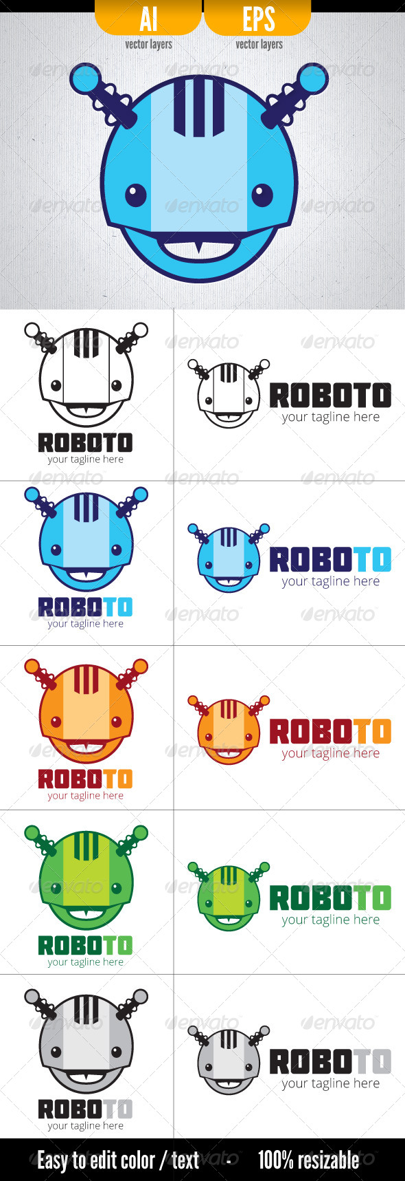 GraphicRiver Roboto 4864847