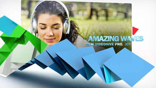 After Effects Project - VideoHive AMAZING WAVES 501991