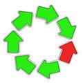 Loop of arrows - PhotoDune Item for Sale