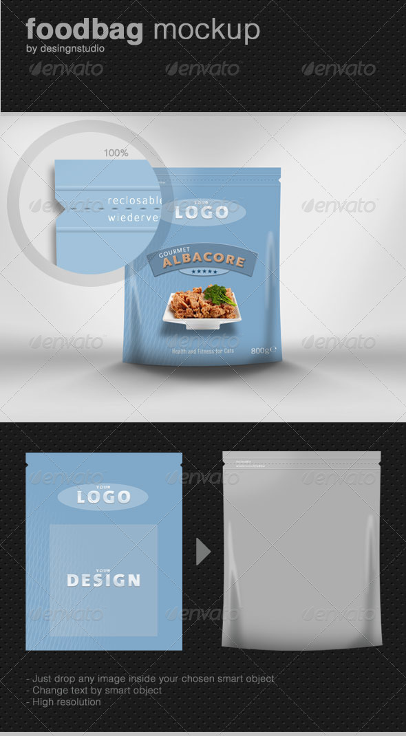 GraphicRiver Food-Bag Product Mock-Up 500091