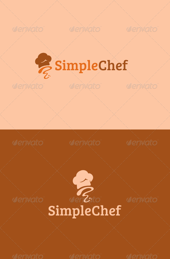 GraphicRiver Simple Chef Logo 4865847