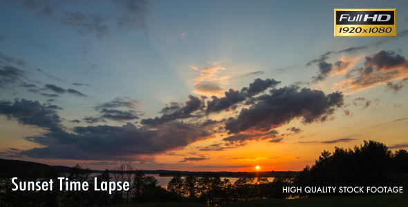 Sunset Time Lapse 2