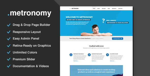 Metronomy - Responsive Multi-Purpose Theme