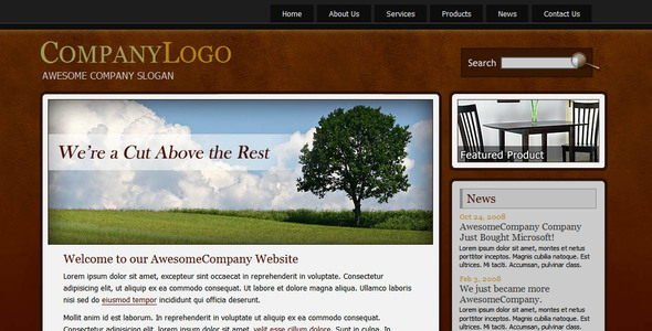 ThemeForest Awesome Company 21982