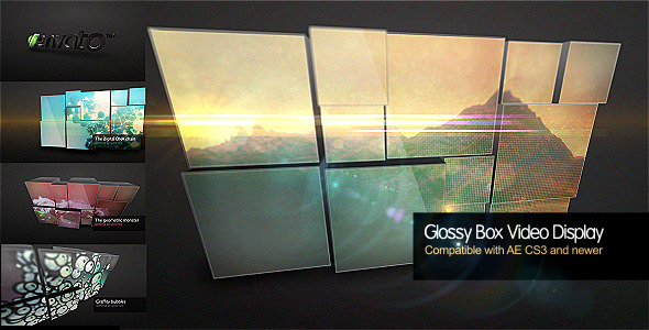 After Effects Project - VideoHive Glossy Box Video Display 260408
