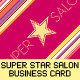 Super Star Salon Business Card - GraphicRiver Item for Sale