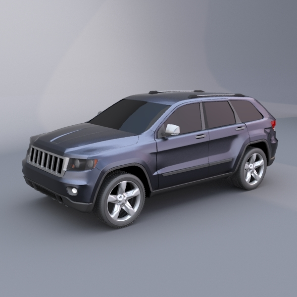 3DOcean Jeep grand cherokee 2011 suv vehicle 502213