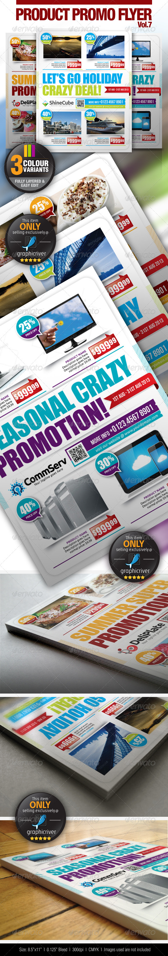 Multi-Purpose Product Promotion Vol.7 - Commerce Flyers