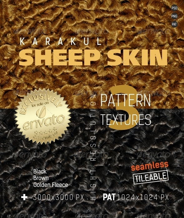 GraphicRiver Sheep Skin Karakul Surfaces Texture Backgrounds 4866767