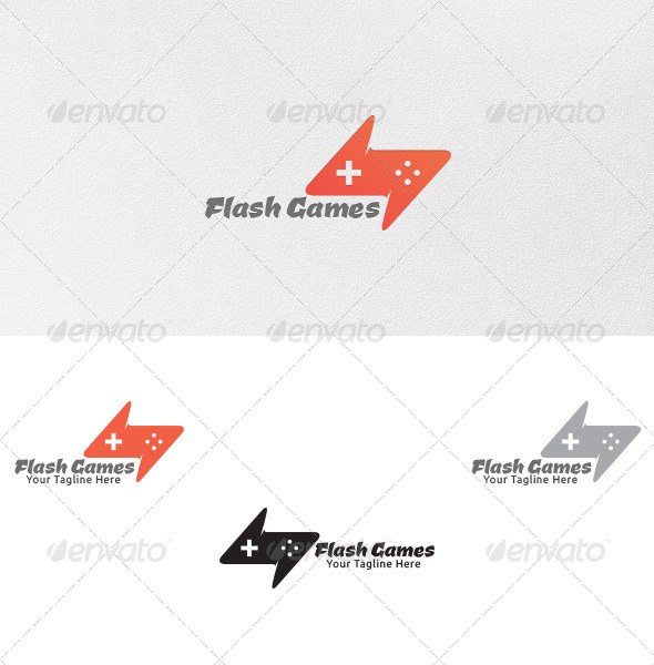 GraphicRiver Flash Games Logo Template 4868835